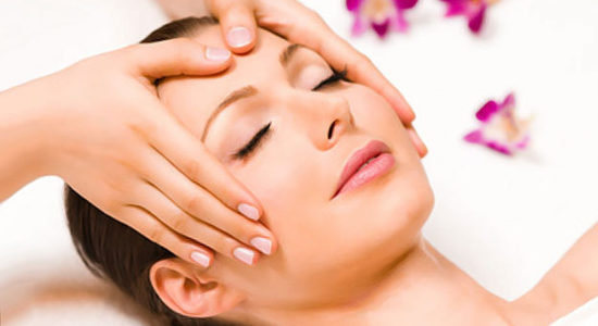 Natural Face Lifting hoofdmassage
